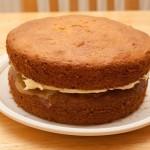 Gold Sandwich Cake