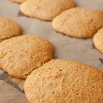 Cooked orange drop cookies