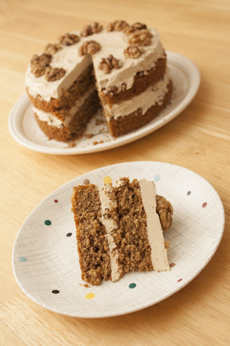 Coffee And Walnut Cake Recipe Cake And Cookie Recipes