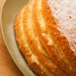 Home-made Lemon Curd Cake