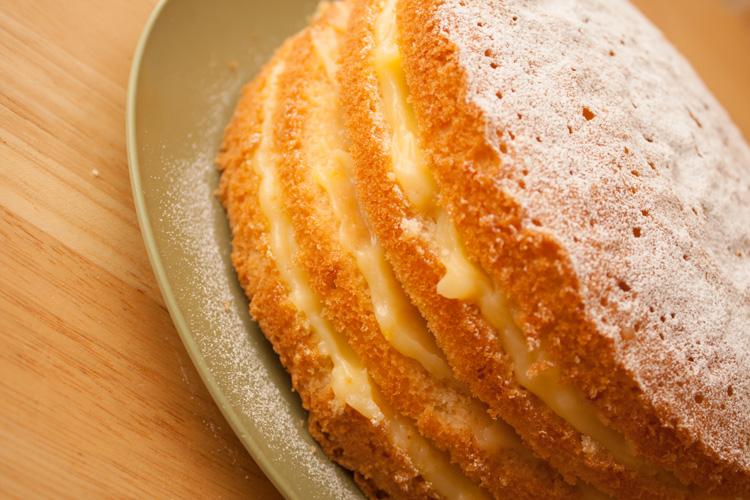 Lemon Curd Cake Recipe Delia