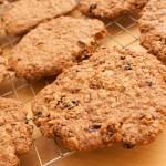 Breakfast cookies cooling on rack